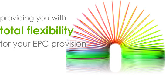 Providing you with total flexibility for your EPC provision